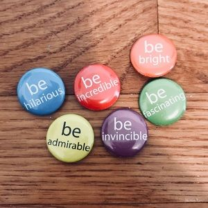 Accessories - Be Inspirational Pin Set